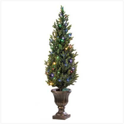 $4742-$12995 Indoor Outdoor 5Ft Faux Christmas Tree With Led