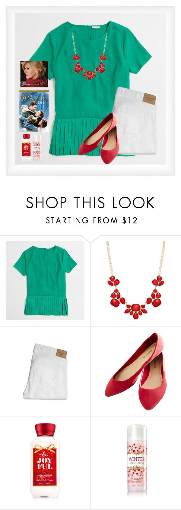 """""""Where the tree tops glisten"""" by avamariebrown ❤ liked on Polyvore featuring J.Crew, Style & Co., Abercrombie & Fitch and Wet Seal"""