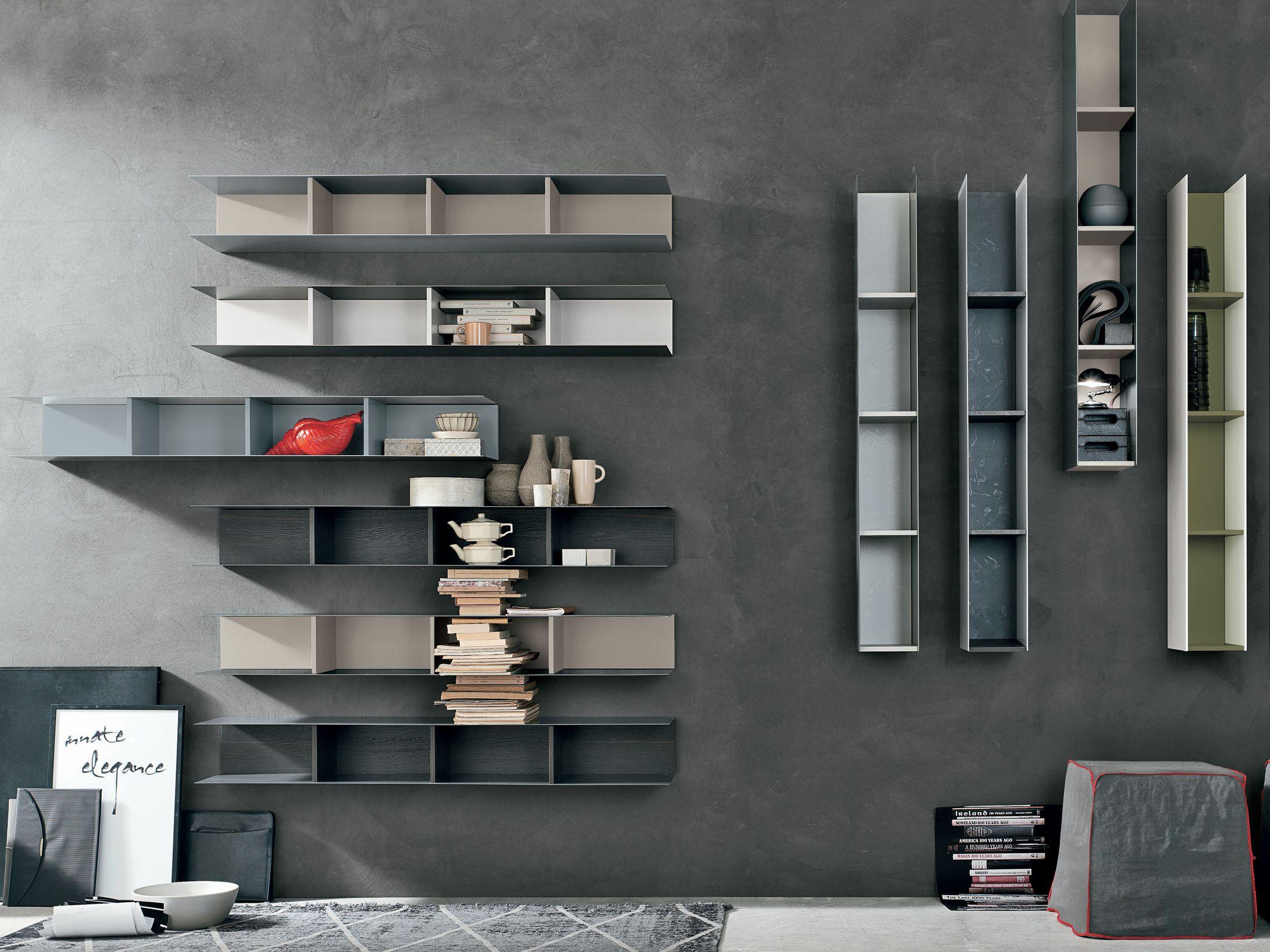 Raster Wall Shelf Raster Collection By Gruppo Tomasella Shelves Wall Shelves Open Shelving Units