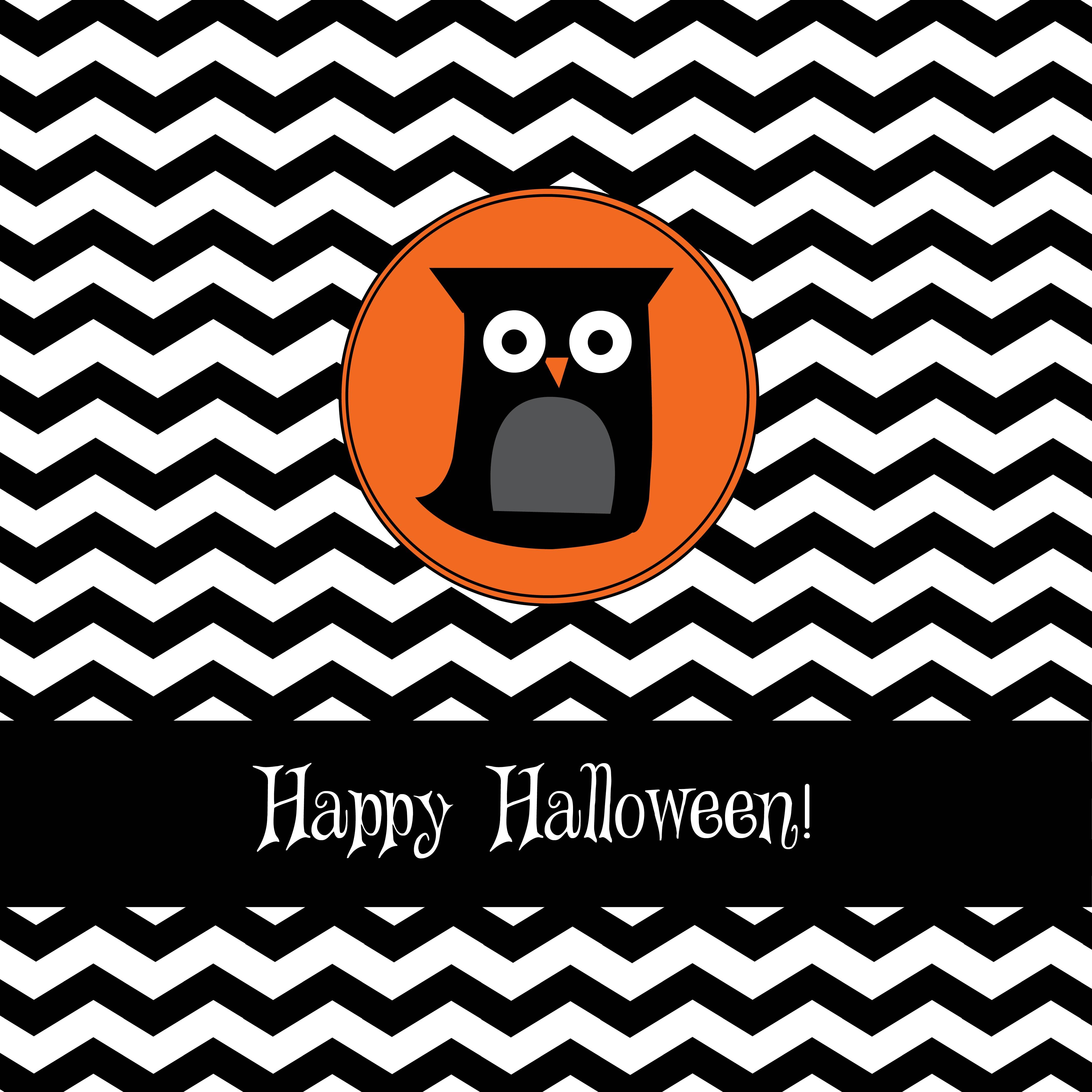 Wallpapers For > Cute Fall Owl Wallpapers Halloween