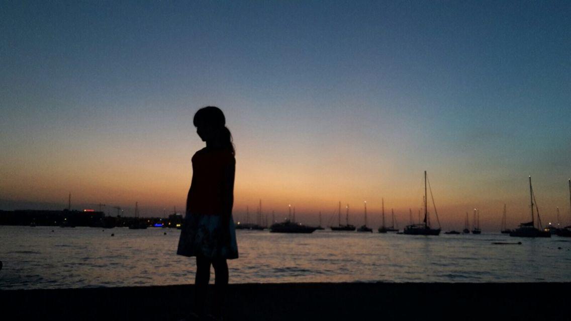 San Antonio Bay Sunset #patiencegin #sanantonio #ibiza #sunsetthrumylens