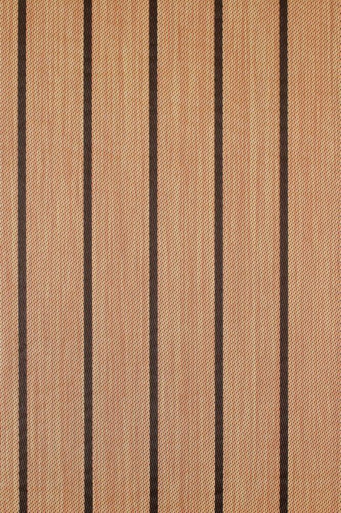 Marine Vinyl Flooring w/ Padding : TEAK : 8.5' : Outdoor Pontoon Boat Carpet #SpartaCarpets