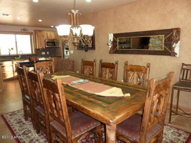 southwestern style dining room SOUTHWESTERN