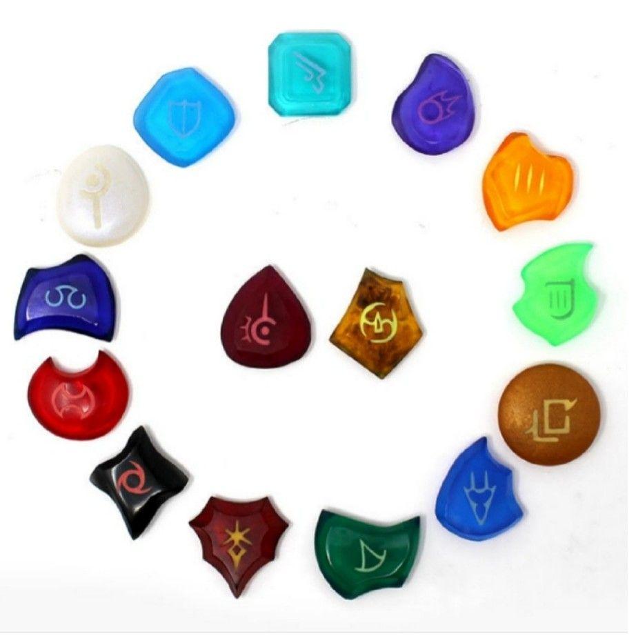 Full Ffxiv Job Stone Set Crafts Perler Patterns Perler Bead Patterns