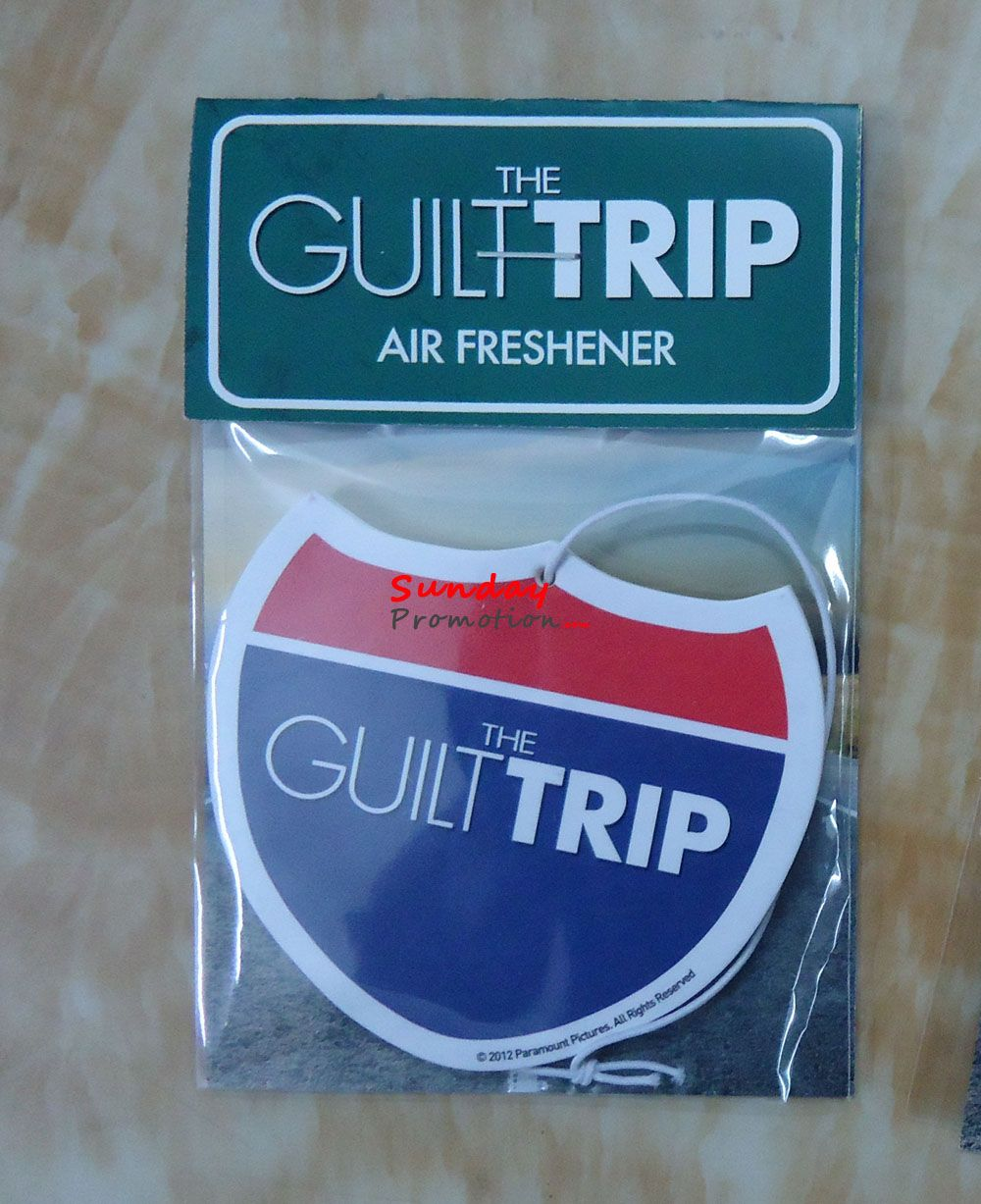 Here is a die cut custom made air fresheners we made for a company for promotional