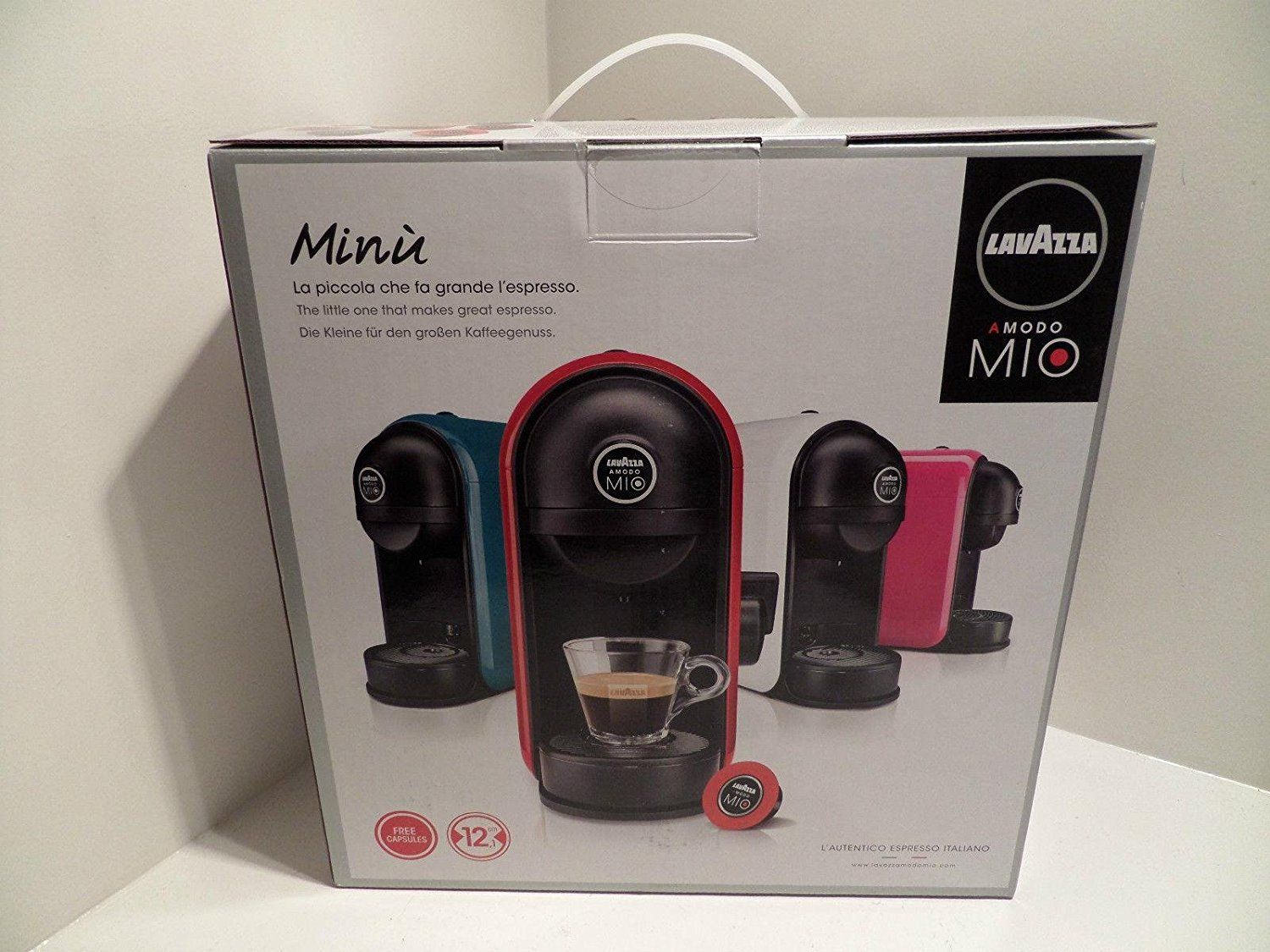 Lavazza Amodo Mio Minu White Coffee Pod Machine Coffee