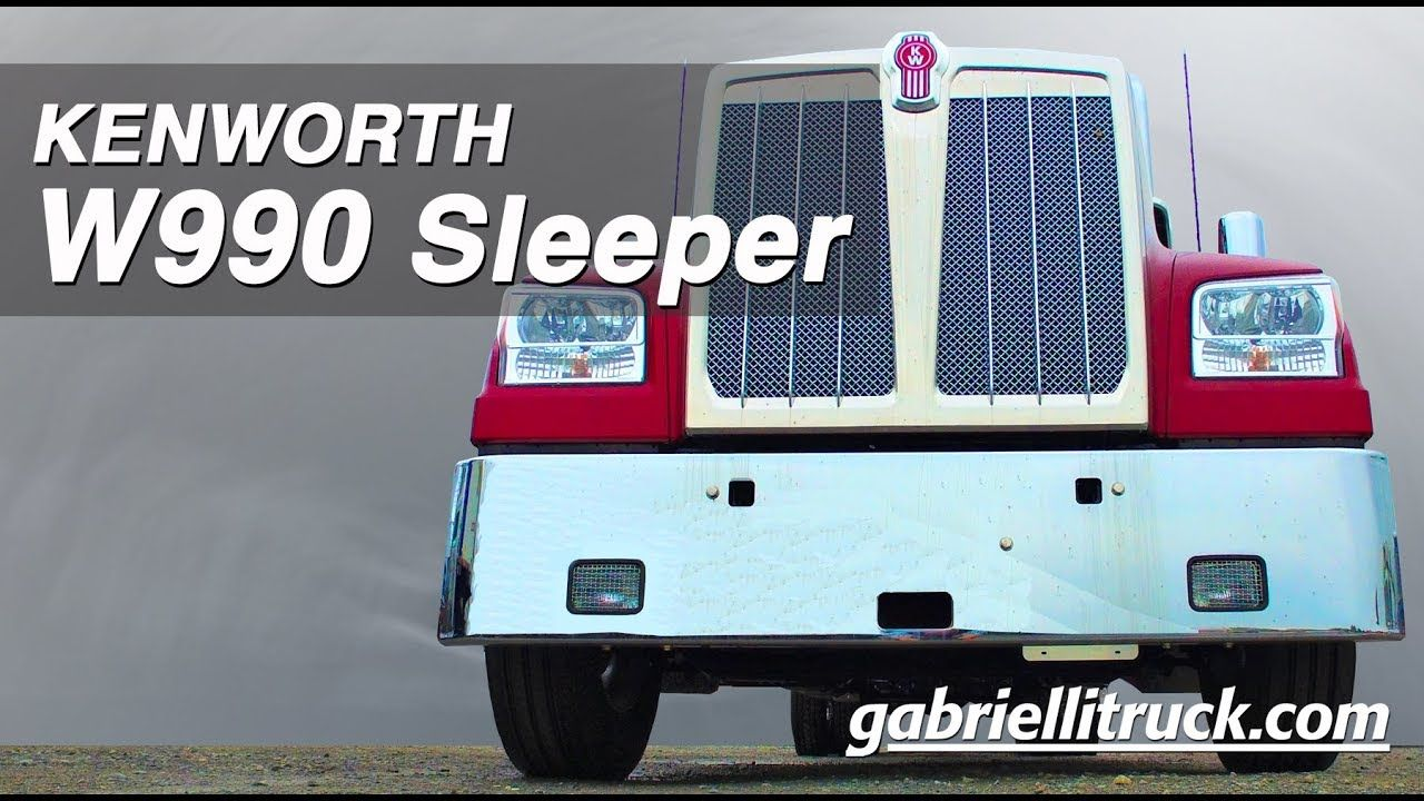 New Kenworth W990 Sleeper For Sale Near Me Kenworth Kenworth