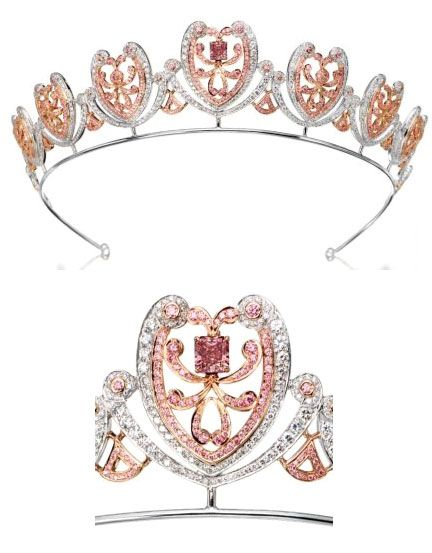 Pink Diamond Tiara Pink Gems Come From The Australian