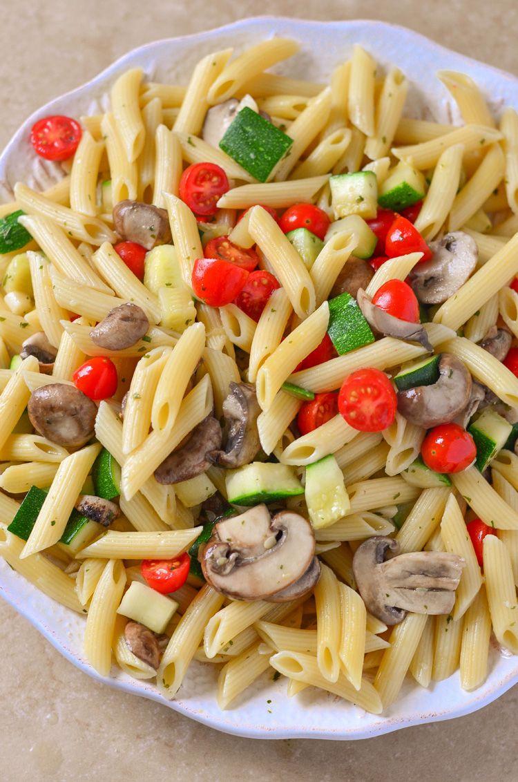 Easy Vegetarian Penne Pasta