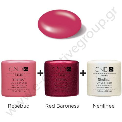 CND Shellac - rosebud-_-red-baroness-_-negligee | Nails ...