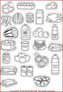 Resultado De Imagen Para El Plato Del Buen Comer Para Niños