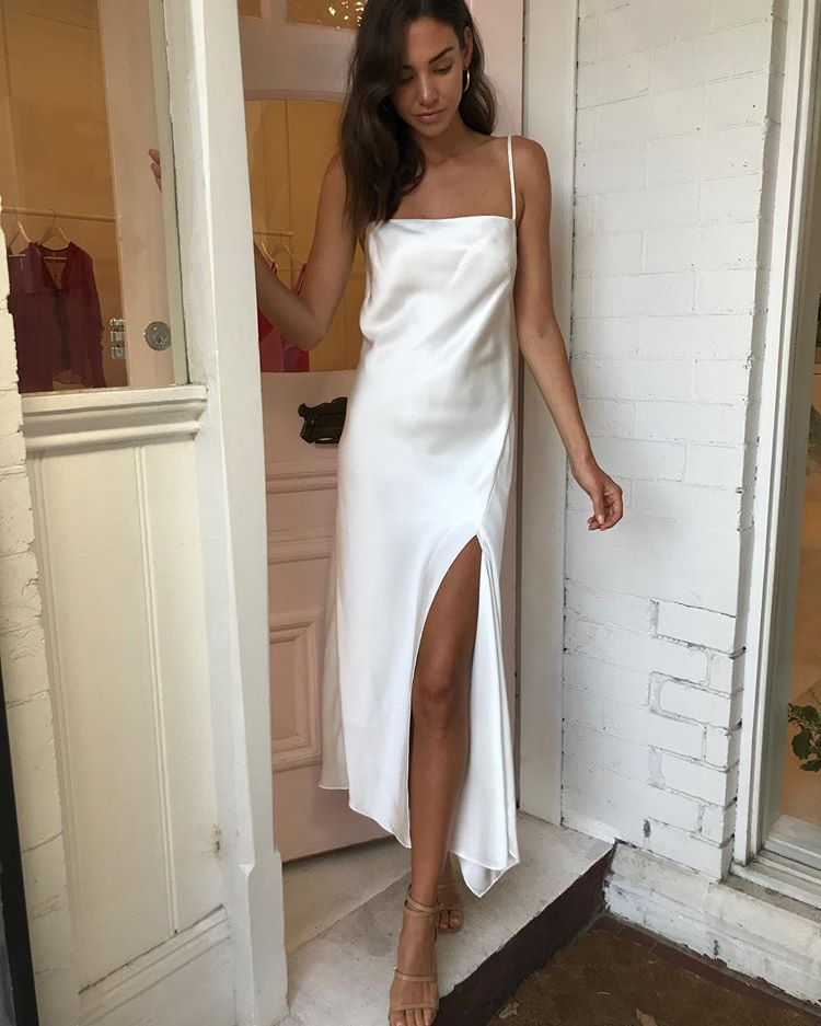 New In Camilla And Marc Acacia Dress In Ivory Afterpay And Zippay Available Tap To Purchase Coco Lace Dress Outfit Casual Dress Outfits White Slip Dress