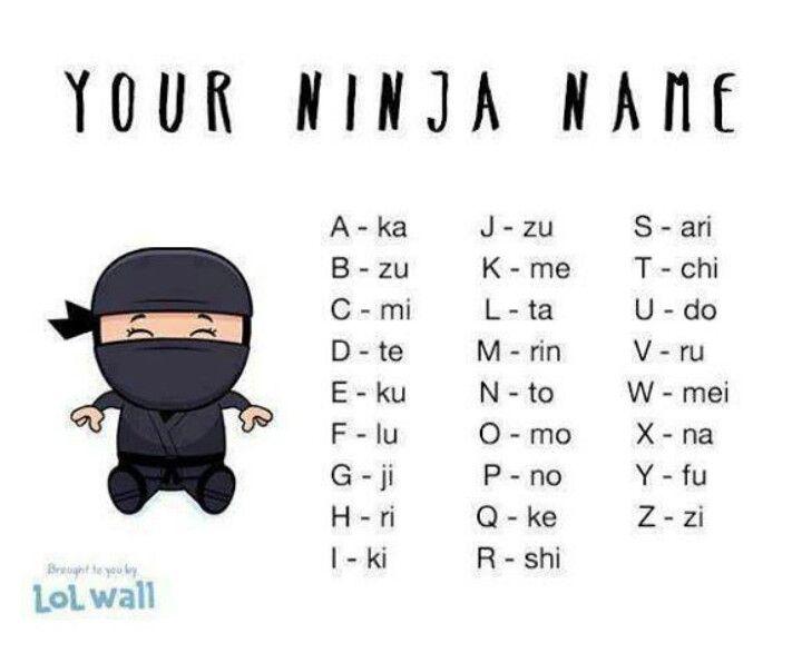 Mekachiku ninja name ninja quote funny quotes