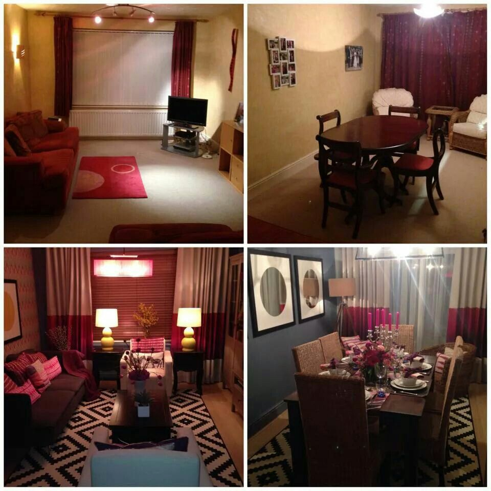 Before and after pictures from our 60 minute makeover with for 60 minute makeover bedroom designs