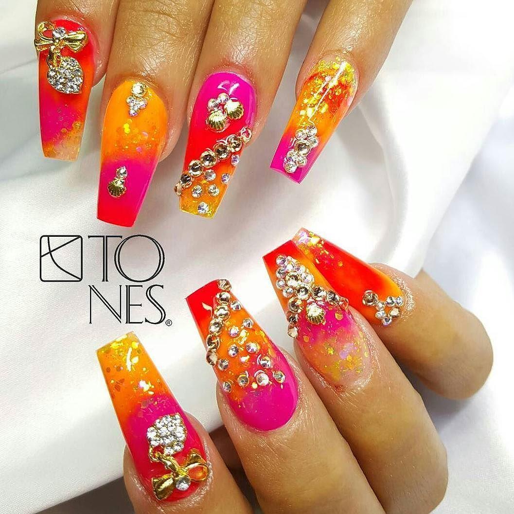 Tones Nail Art Examples Nailssss Pinterest Creative Nails