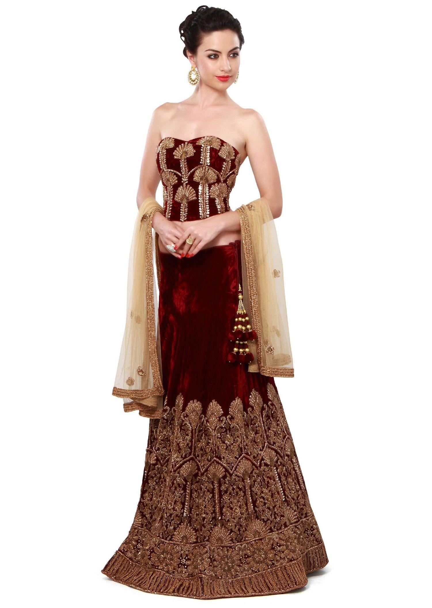 to wear - Wear Bridal frocks lehenga by ahsan hussain video