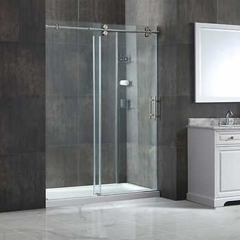 Ove Madison 60 In Shower With 10 Mm Tempered Glass Shower