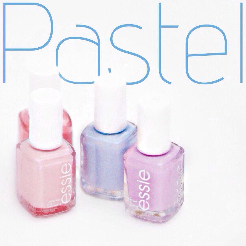 Essie pastel nail polishes peach pink blue lilac lavender   Beauty ...