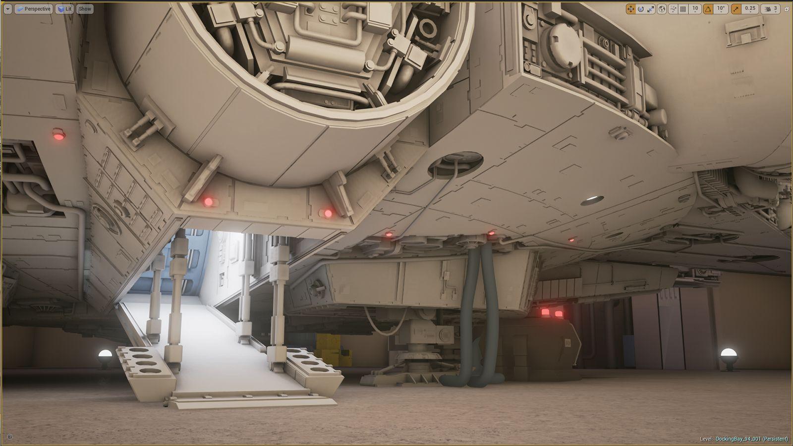 Star Wars Mania: Docking Bay 94 - Polycount Forum