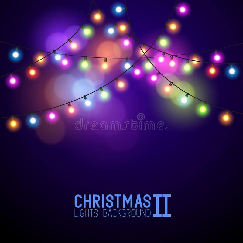 Colourful Glowing Christmas Lights Vector Illustration Sponsored Paid Ad Glowing Illustration Ve In 2020 Vector Illustration Christmas Lights Illustration