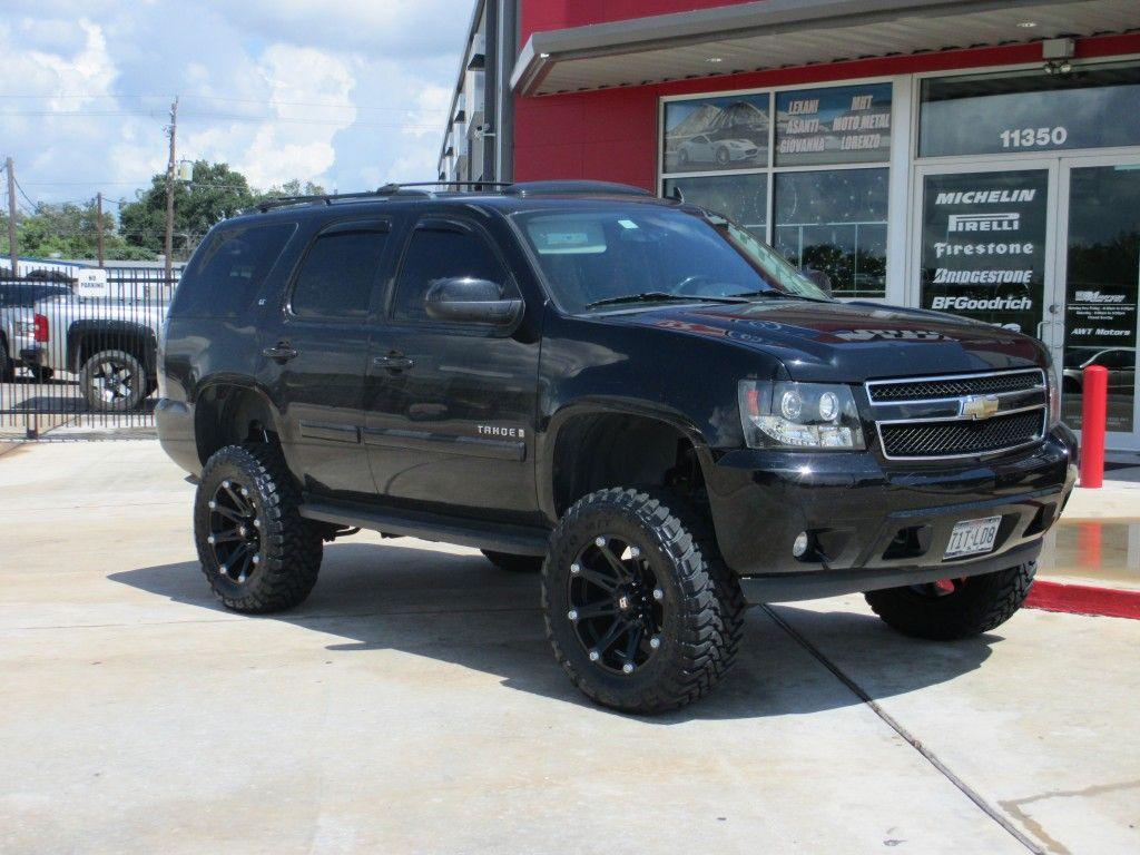 Ballistic 814 Jester Wheels In Flat Black On A Lifted Chevrolet