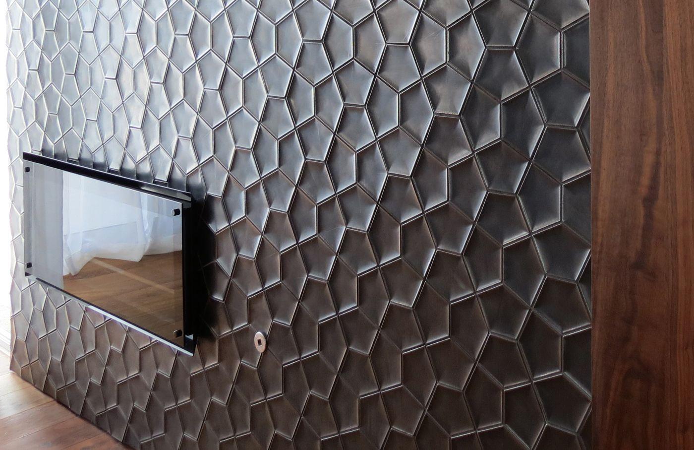 penta 3d tile design ogassian tile black tessellated tiles