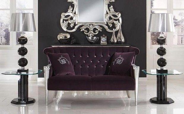 Faceted Swarovski Crystals Showcased On Luxury Furniture Collection Wow Crystal Furniture Futuristic Furniture Modern Scandinavian Furniture