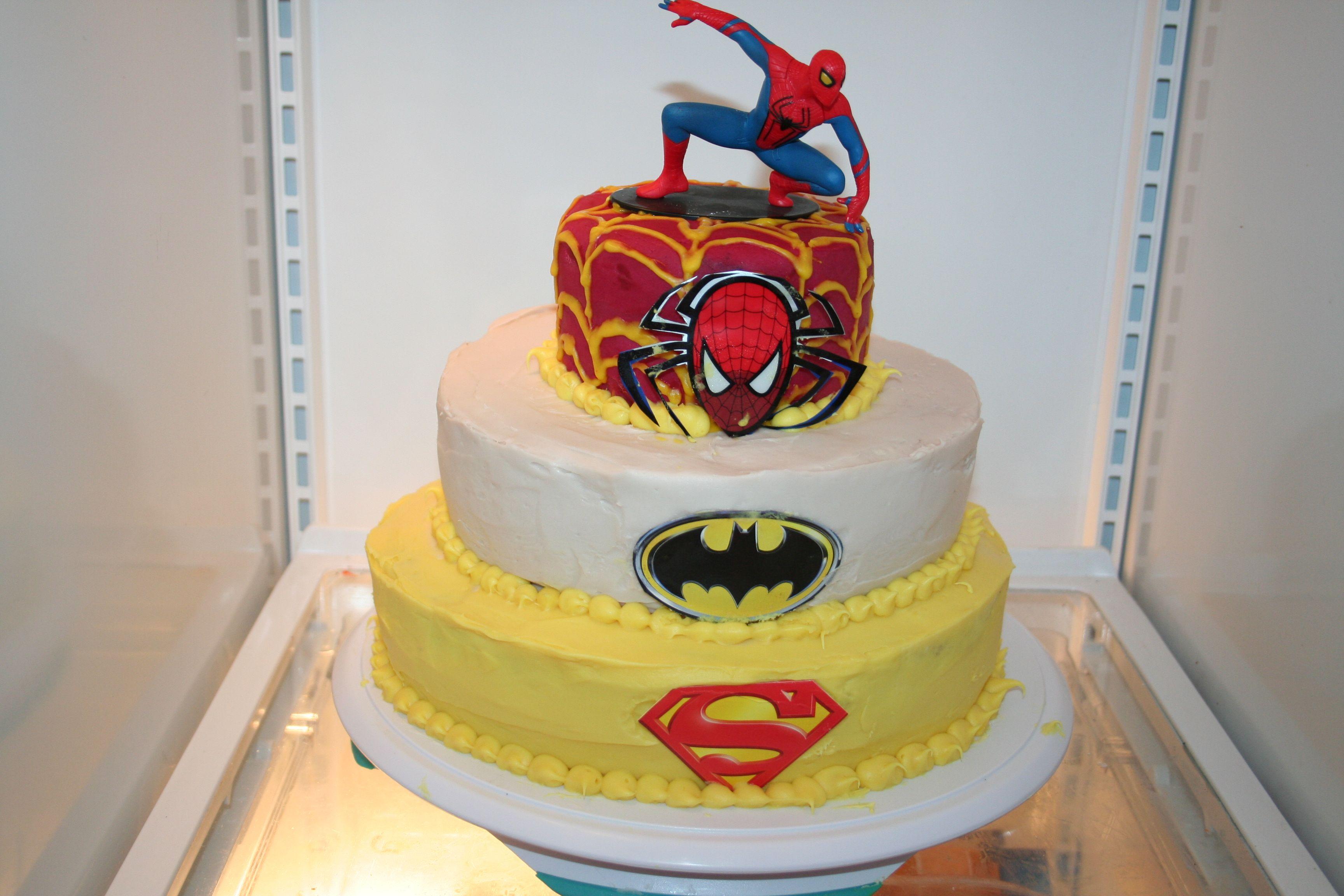 Organic Birthday Cake using dye free food coloring and gluten free ...