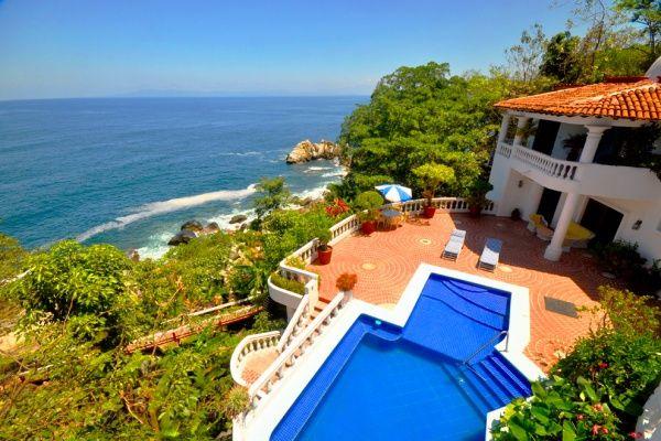 Beach House In Mexico Casa Paloma Del Mar For Boca De Tomatlan Mlsvallarta