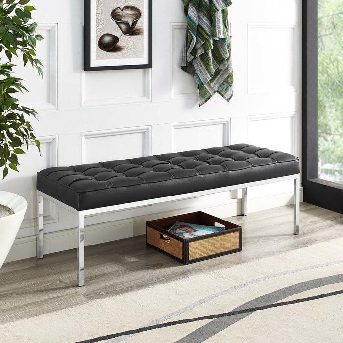 Gayatri Leather Bench in 2018 House Pinterest Leather bench