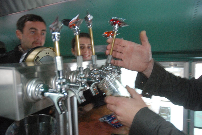Brew Truck beer garden SF Beer garden, Vacuums, Home