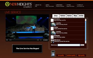 Embed Live Church Streaming With A Website That Only Does Churches Don T Have Annoying Ads That You Can T Control Pop Up In The Mi Live Streaming Broadcast