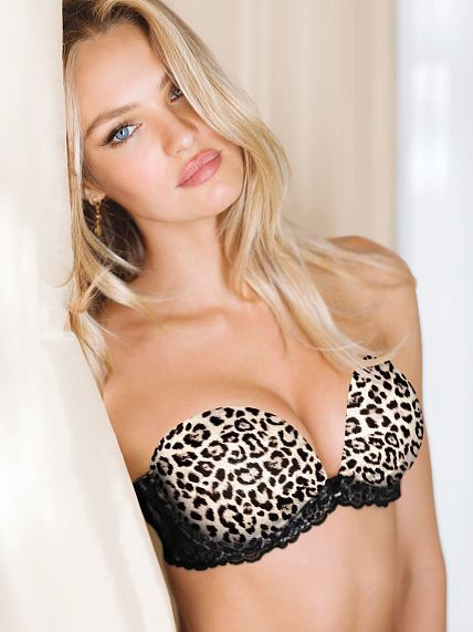 a4efe66dccd40 Victoria s Secret  Fabulous by Victoria s Secret Multi-Way Bra in Petite  Leopard http