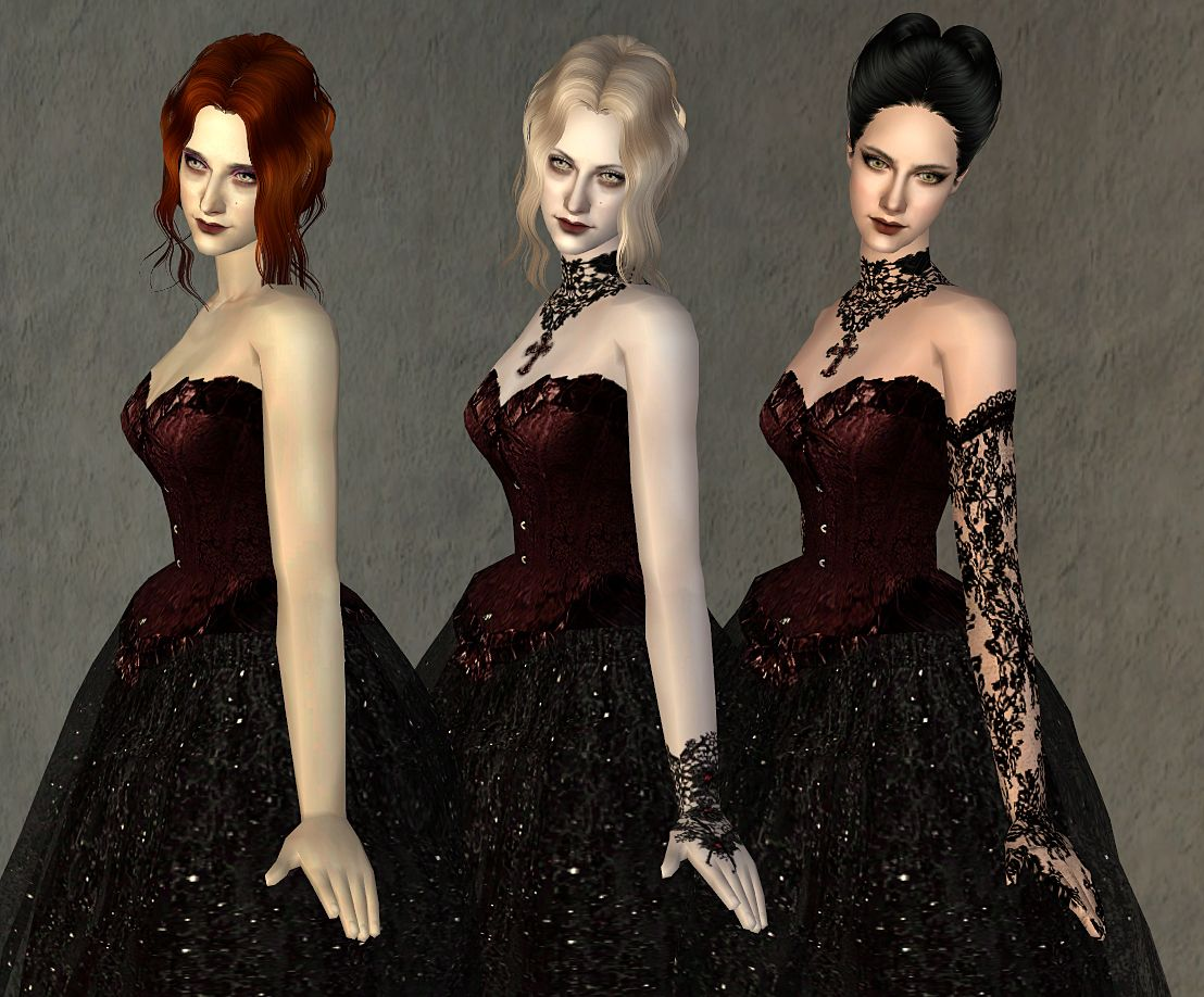 Mod The Sims Fashion Story From Heather Wedding Charm Of