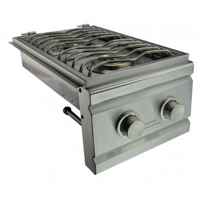 Renaissancecookingsystems Cutlass Pro Double Side Burner Natural Gas Outdoor Stove Outdoor Stove Stove Outdoor