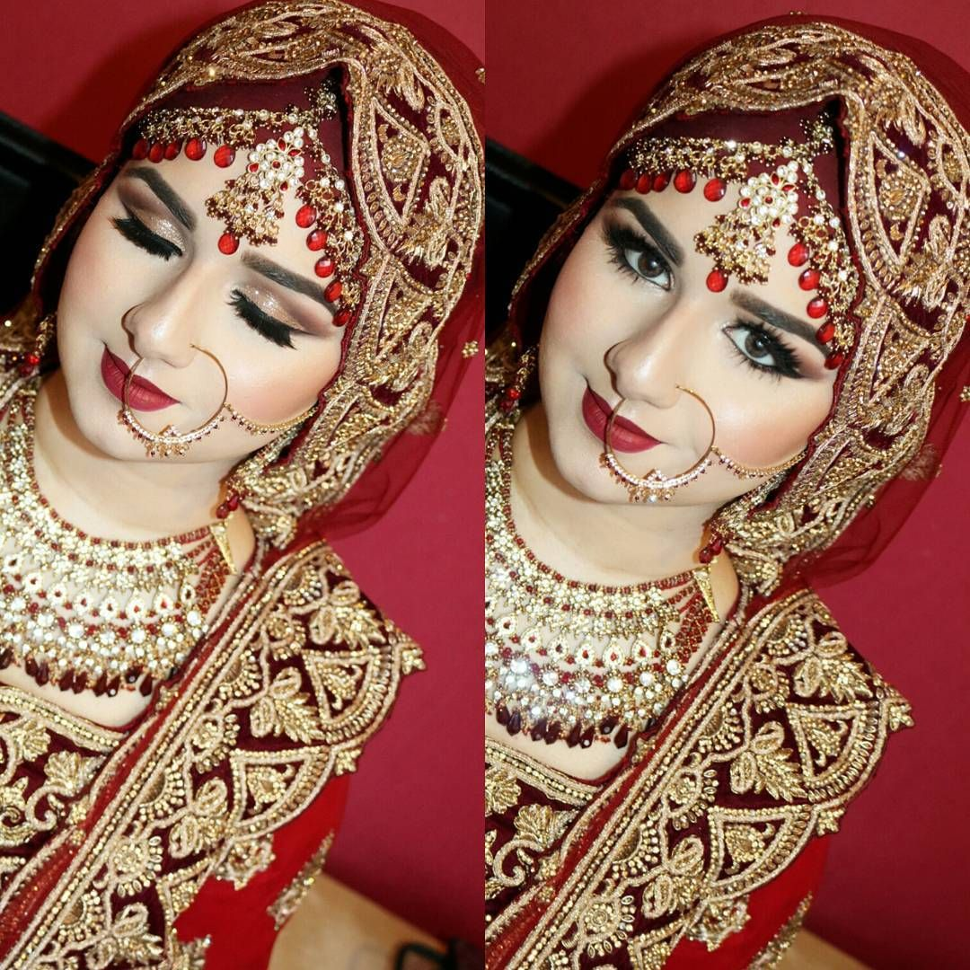 indian hair styles for wedding 960 likes 28 comments amna hussain amnahussainmua on 9104