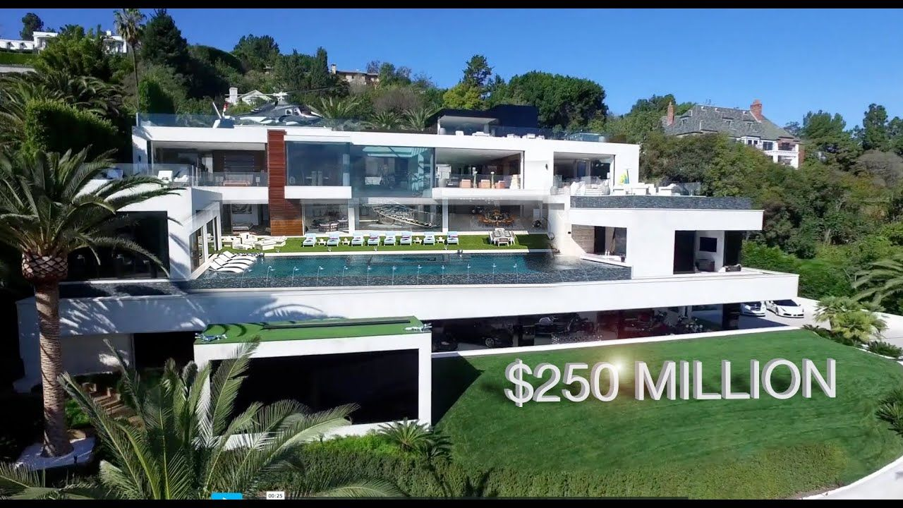 Most Expensive House In The Us 924 Bel Air Rd California In