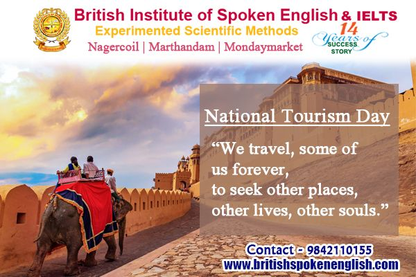 British spoken English & IELT - Nagercoil National Tourism ...