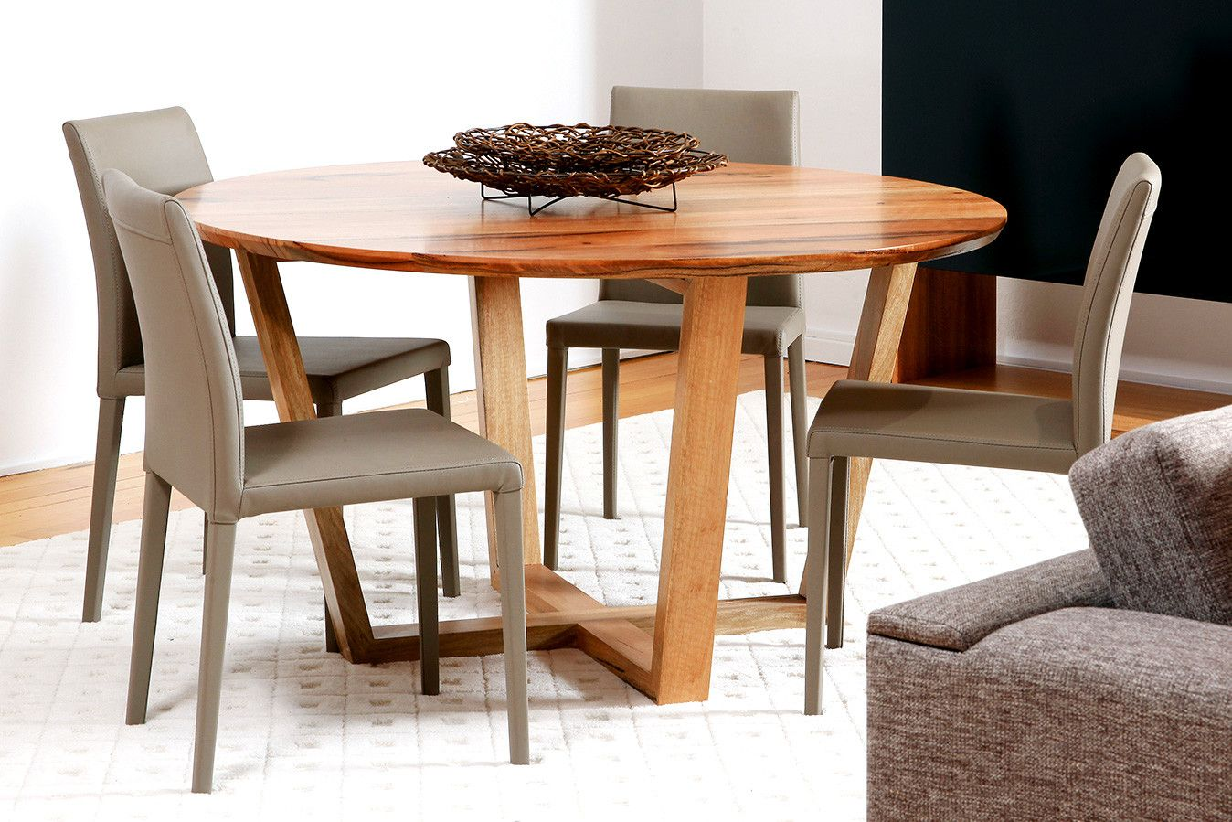 Yallingup Dining Table With Images Contemporary Round Dining