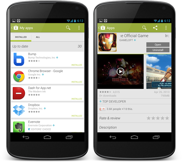 DOWNLOAD READY GOOGLE PLAY STORE APP 4.0.27 APK WITH MORE
