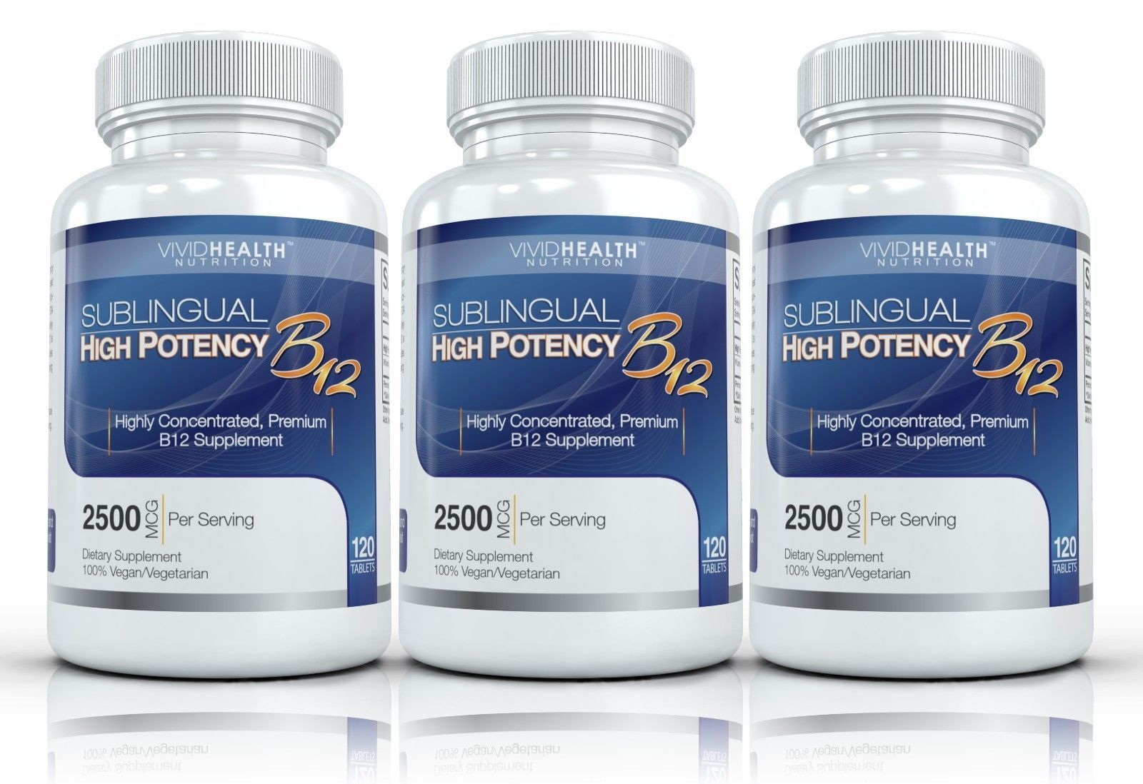 Details about 3x Vivid Health Nutrition High Potency