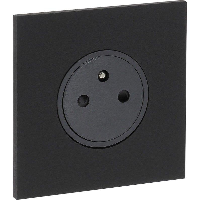 Prise Chargeur Usb Art Noir Arnould Prise Interrupteur Interrupteurs Prise Encastrable