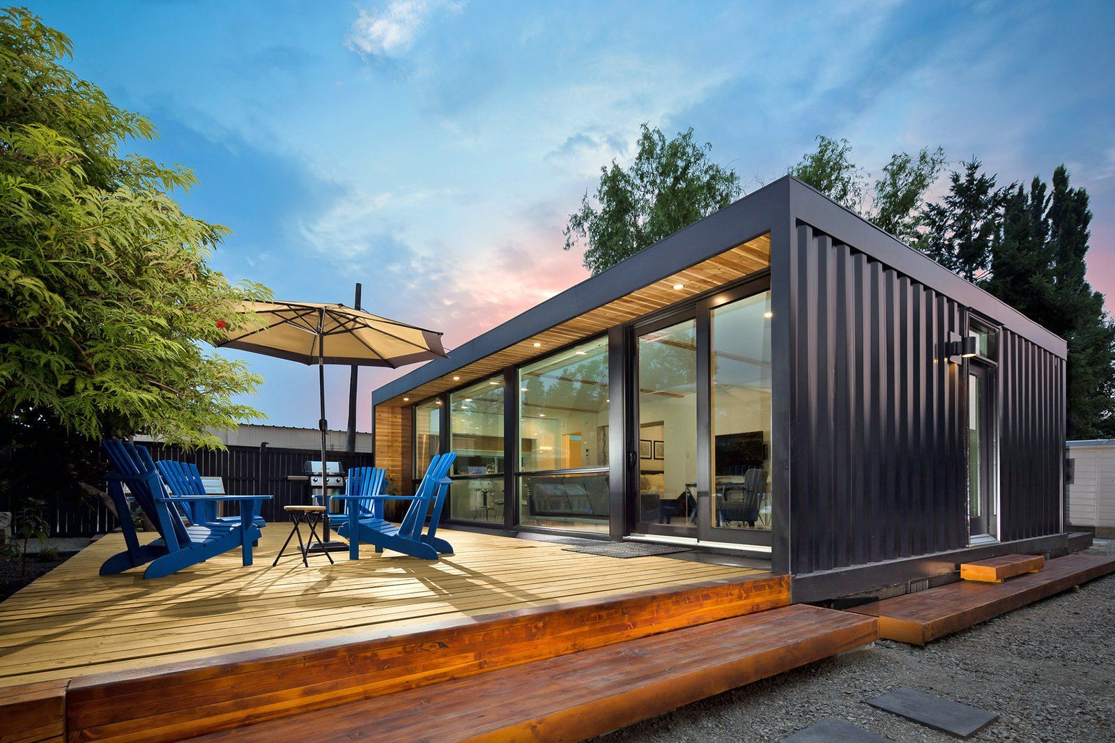 From The Hamptons First Shipping Container House To A Pop Up Cargotecture Bar The Innovative Pr Container Homes Cost Container House Container Homes For Sale
