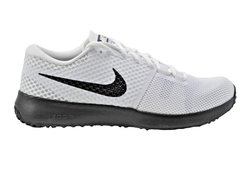 Nike Men\u0027s Zoom Speed TR2 TB Training Shoes 725181 100 White/Black/Grey #
