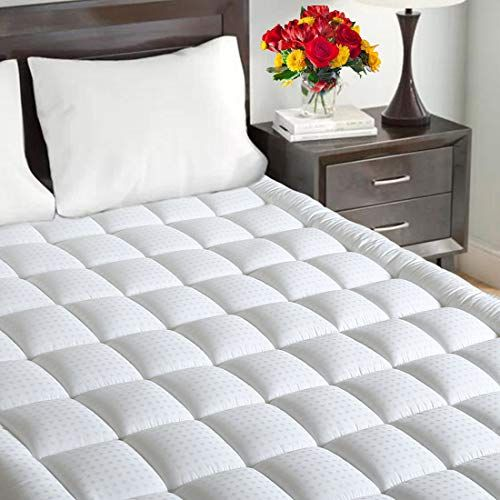 Maevis Mattress Pad Cover 100 300tc Cotton With 821 Inch