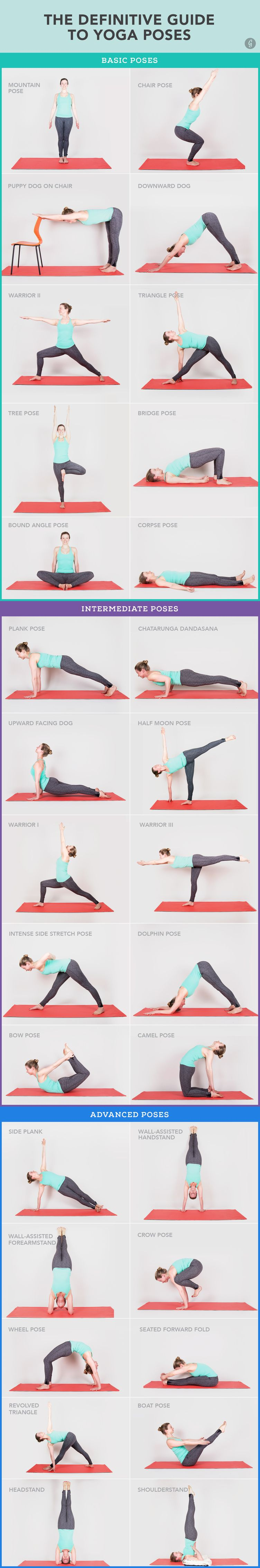 30 Yoga Poses You Really Need To Know Stretch Fitness