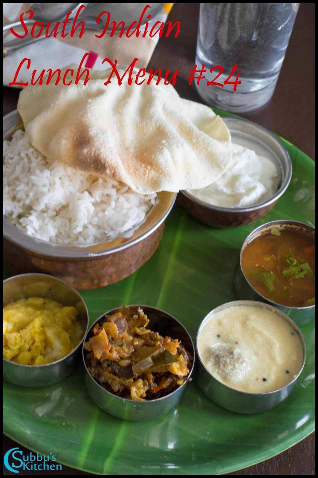 Subbus Kitchen South Indian Lunch Menu 24 Paruppu Urundai Mor Kuzhambu Kalyana Rasam Bittergourd Stir Fry Lunch Menu Indian Food Recipes Vegetarian Lunch
