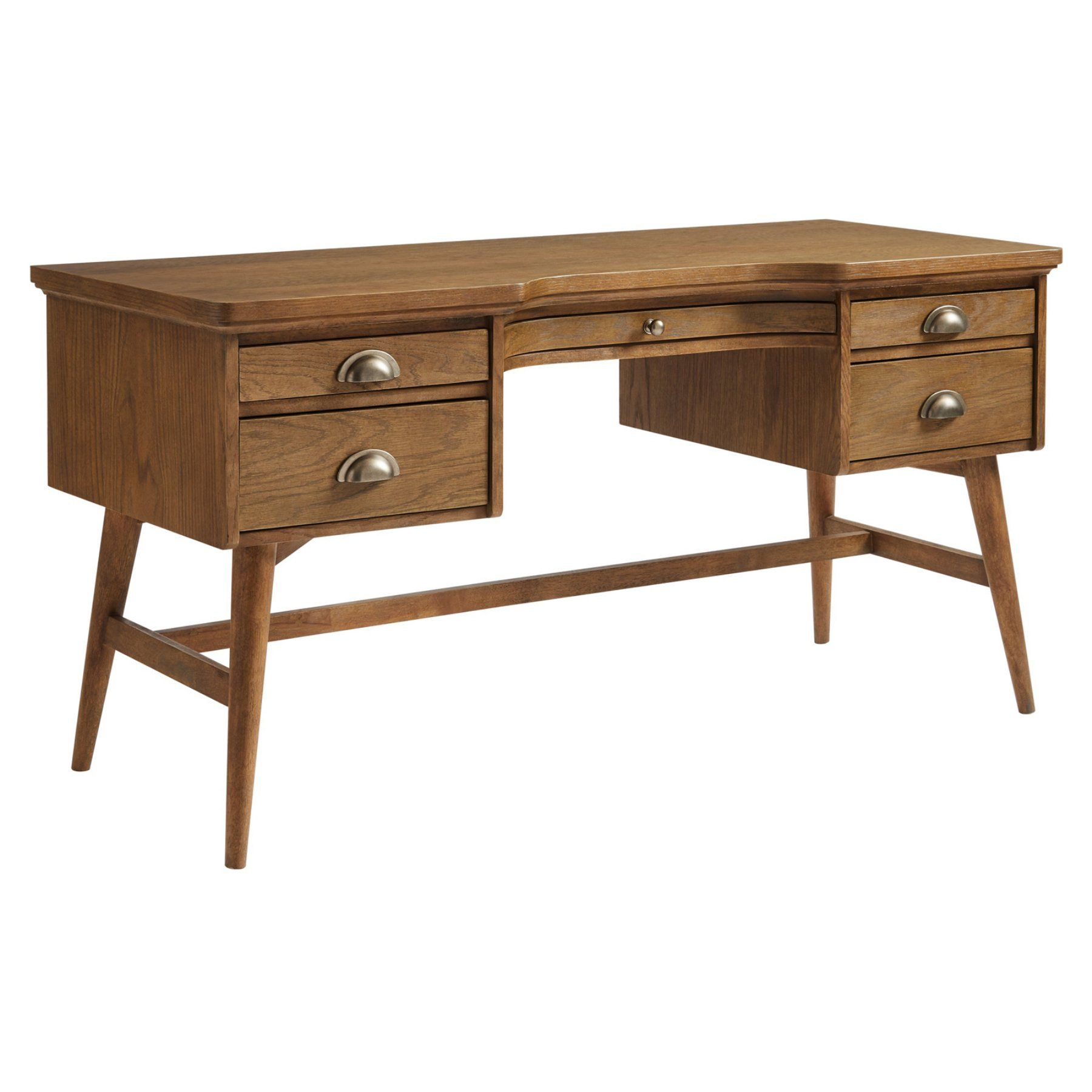 Stanley Furniture Driftwood Park Pedestal Desk Furniture