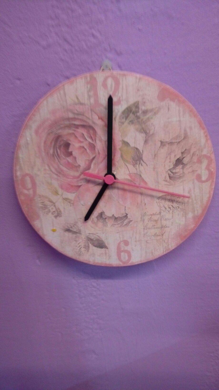 #reloj #stamperia