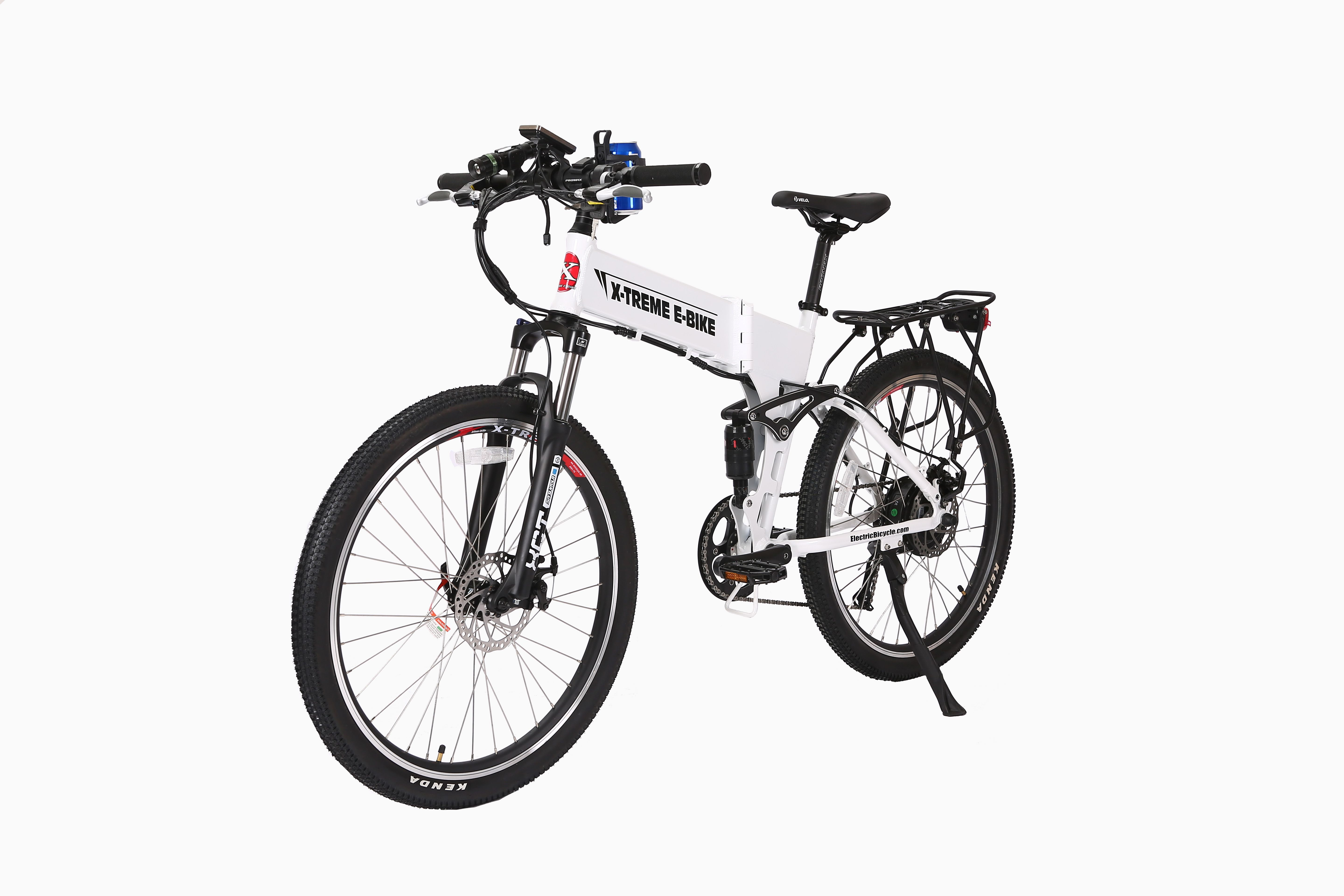 Electric Bicycles X Treme Baja 48 Volt Folding Electric Mountain Bicycle Bicycle Electric Bicycle Mountain Bicycle